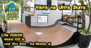 Visita na Ultra Skate