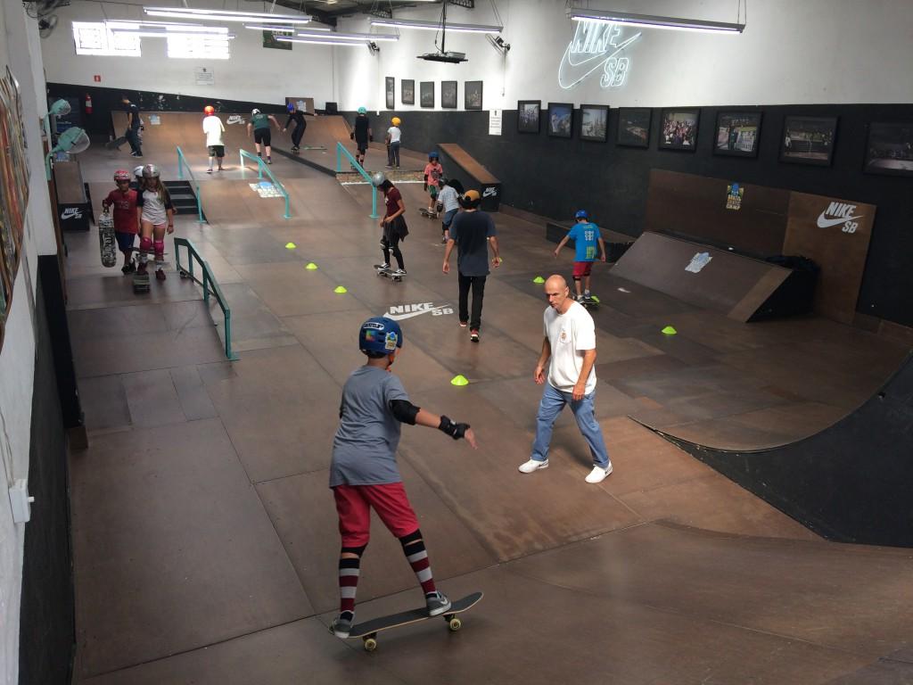 Aulas de Skate